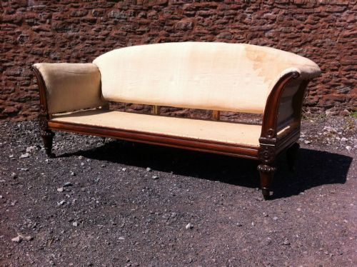 a 19th century rosewood sofa