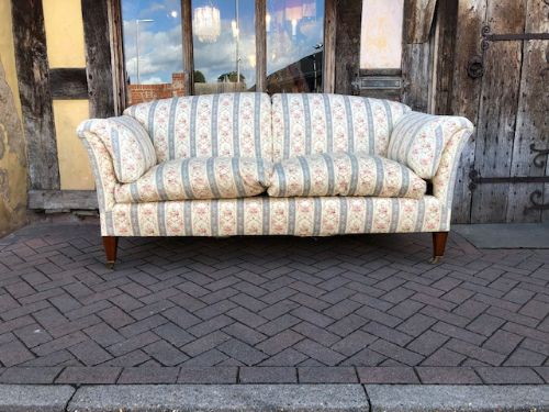 an early 20th century howard sons portarlington model 7ft sofa