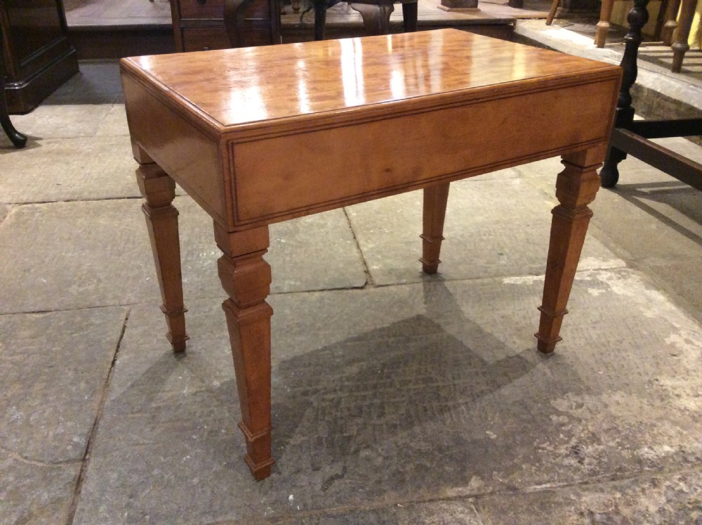 19thc satinwood commode useful as side table
