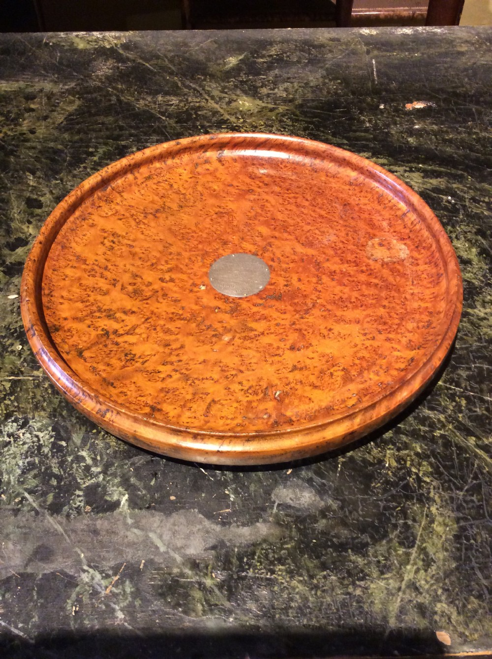 exotic wood dish from new zealand