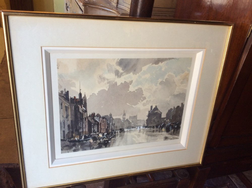 a 20thc watercolour and ink painting by rowland hilder c1980