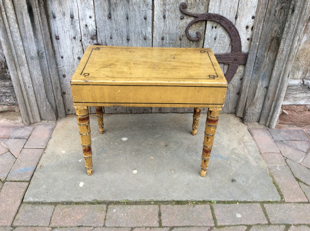 regency painted commode